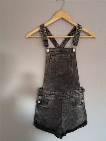 Salopette en jeans noir H&M taille 14 ans