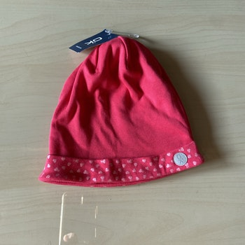 Bonnet rose 2/6 ans
