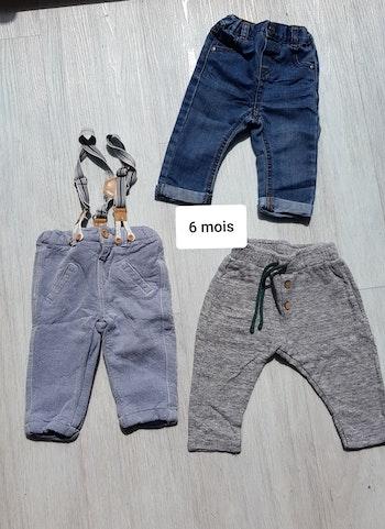 Lot de pantalons 6 mois