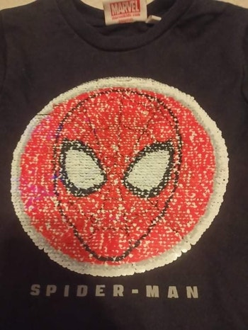 Sweat garçon interactive Spiderman