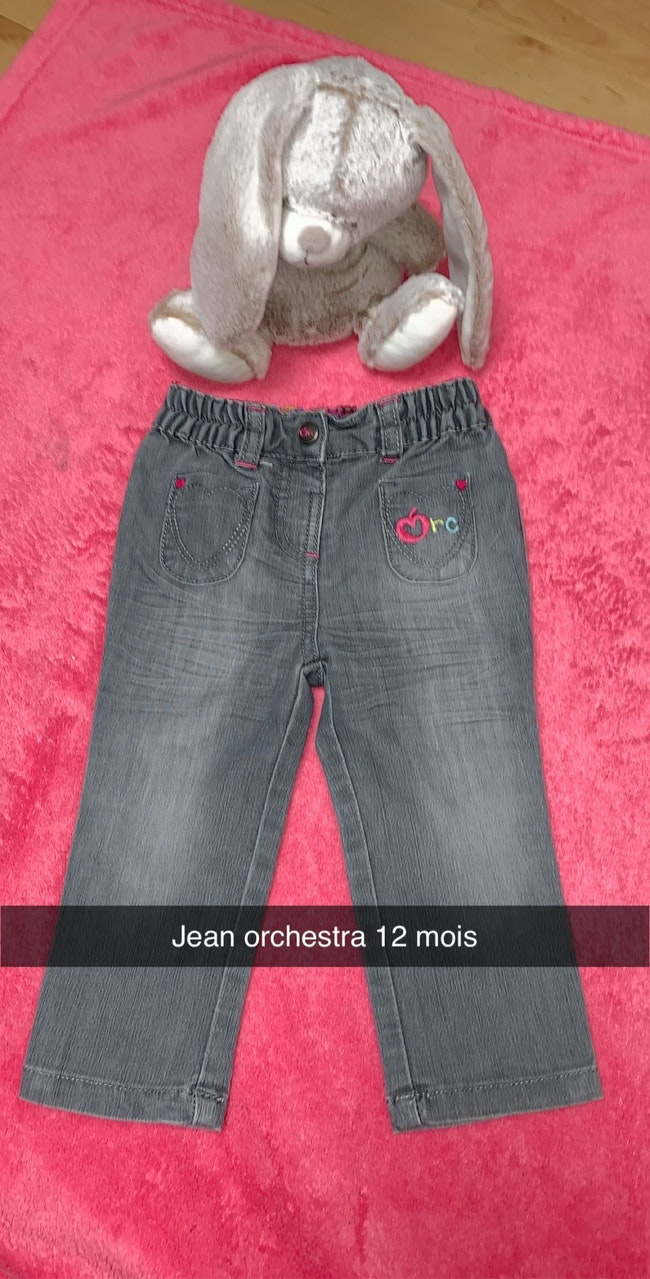 Petit lot de pantalon fille