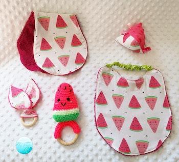 Cadeau bébé pastèque