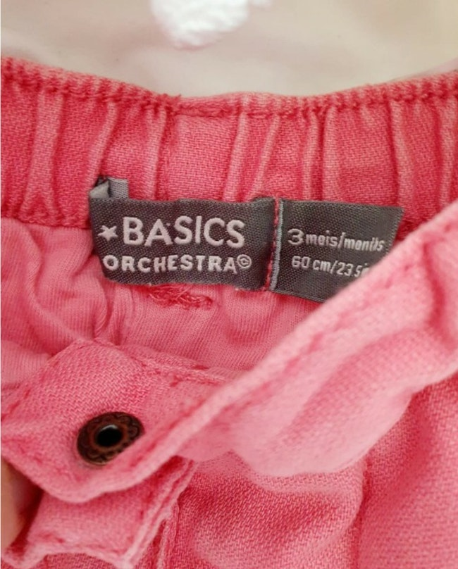 Jeans 3 mois Orchestra