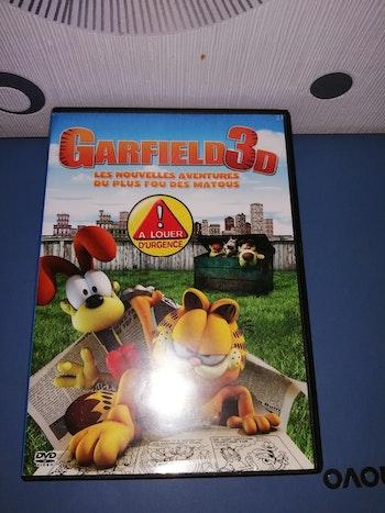 DVD Garfield 3d