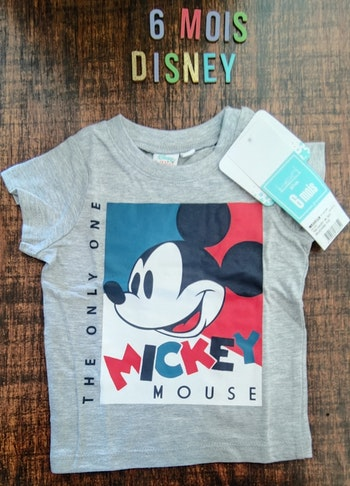 Tee-shirt Mickey neuf 6mois