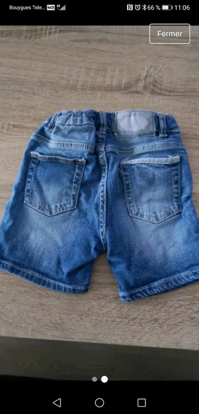 Short jean 12/18 mois