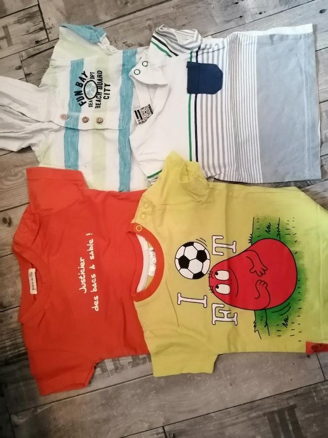 Lot 4 tee-shirts
