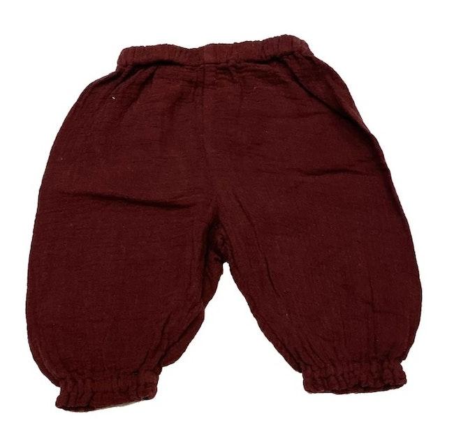 Pantalon violet 3 mois