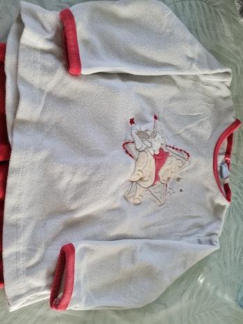 Pyjama velours winnie 24 mois