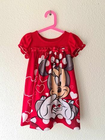 nuisette rouge minnie Disney