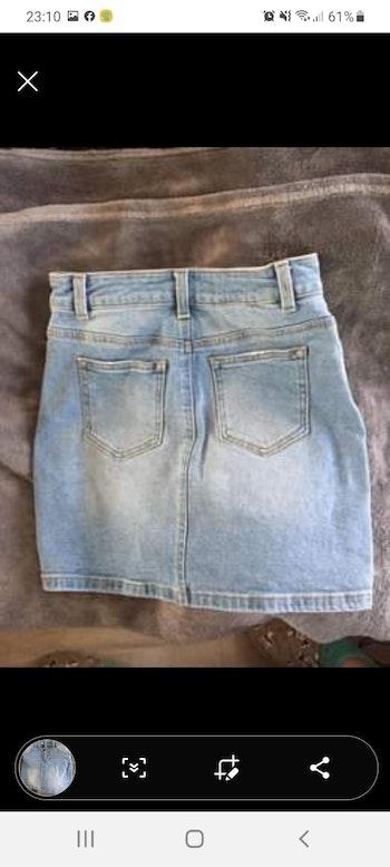 Jupe en jean (taille 34/XXS)