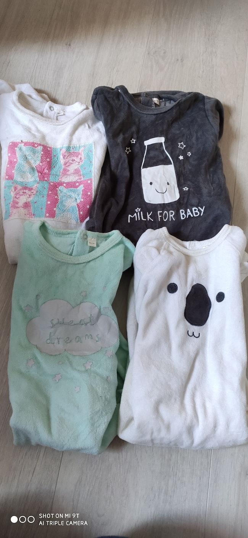 Lot pyjamas 18 mois
