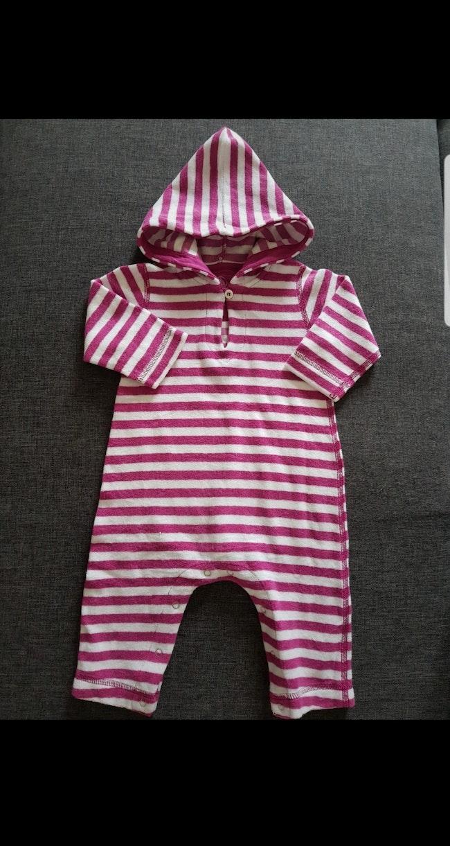 Combinaison éponge bébé fille 6 mois Petit Bateau