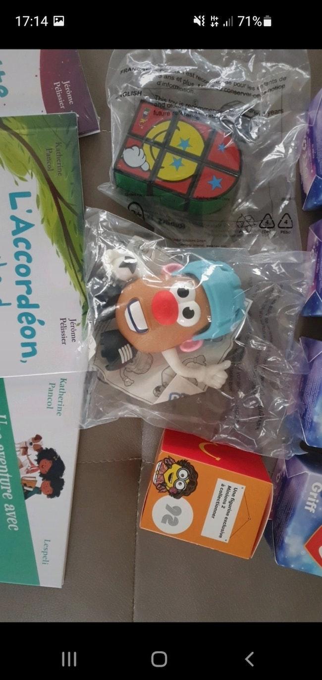 Lot jouets macdo