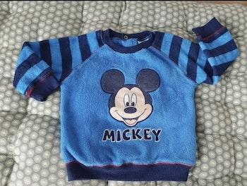 Pull Mickey bleu Disney 24 mois / 2 ans