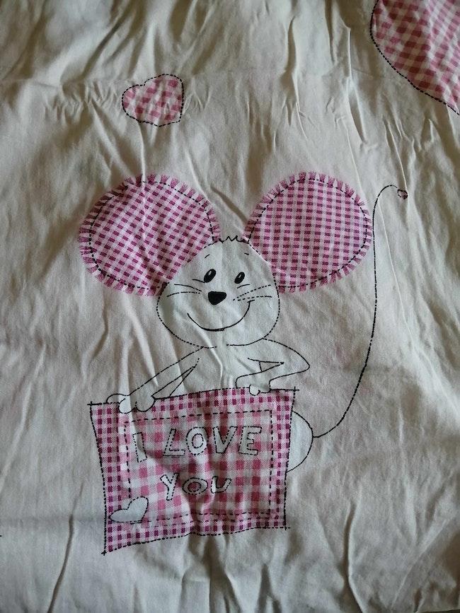 Parure de drap Petite souris