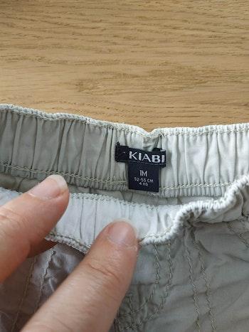 Pantalon beige 1 mois