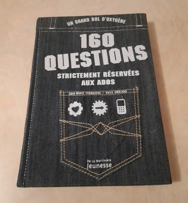 """Livre """"160 questions"""""""