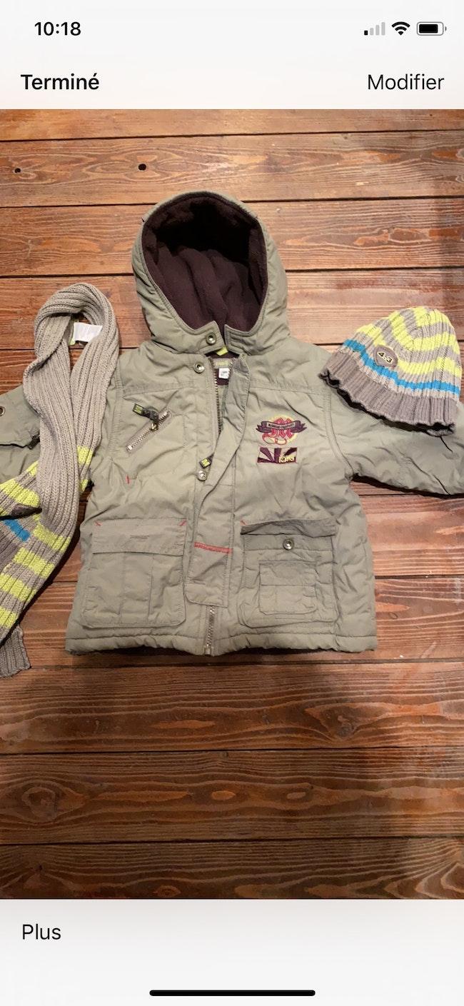 Lot de vêtements garçon hiver  18mois