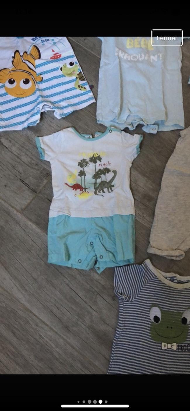 Lot combinaison été / tee-shirts /short