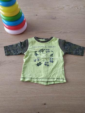 Tee shirt manches longues vert