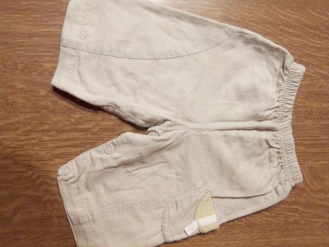 Lot pantalon et salopette 3 mois
