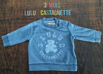 Pull ours 3mois