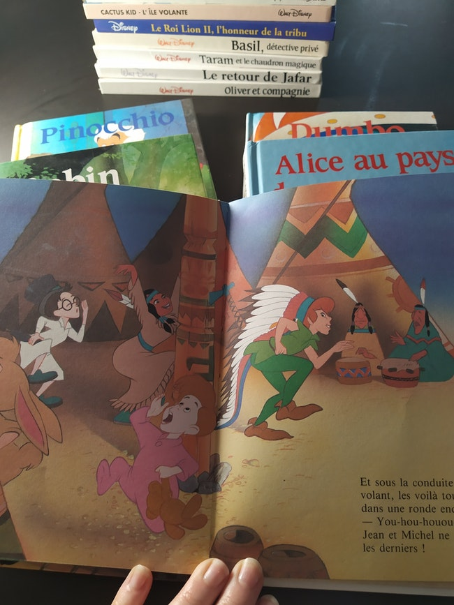 Livre classique Disney
