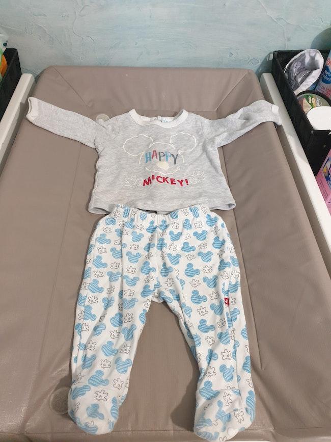 Pyjama deux pièces mickey 6M