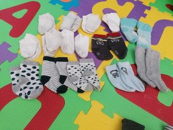 14 paires chaussettes