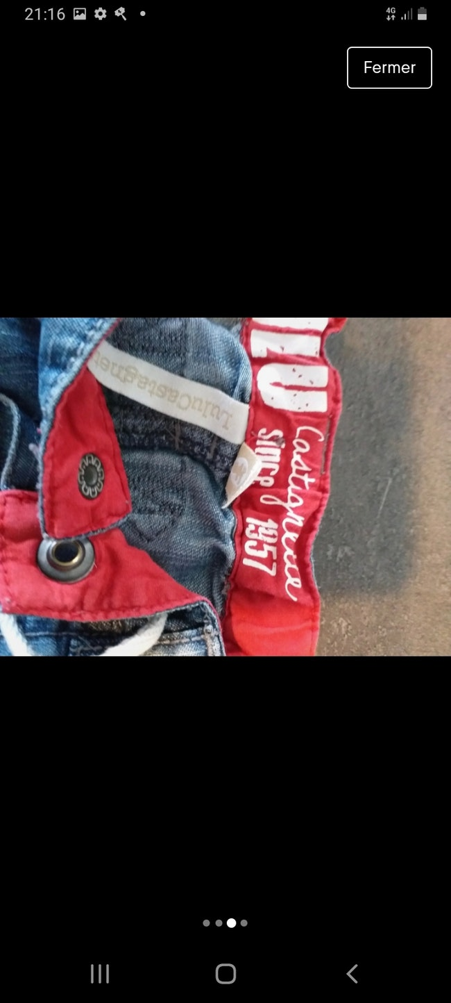 Pantalon garçon 12-18 mois