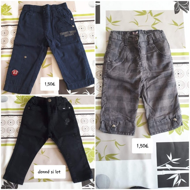 Pantalons 12 mois garçon