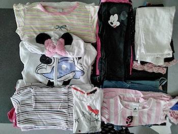 Lot de vêtements Fille 128