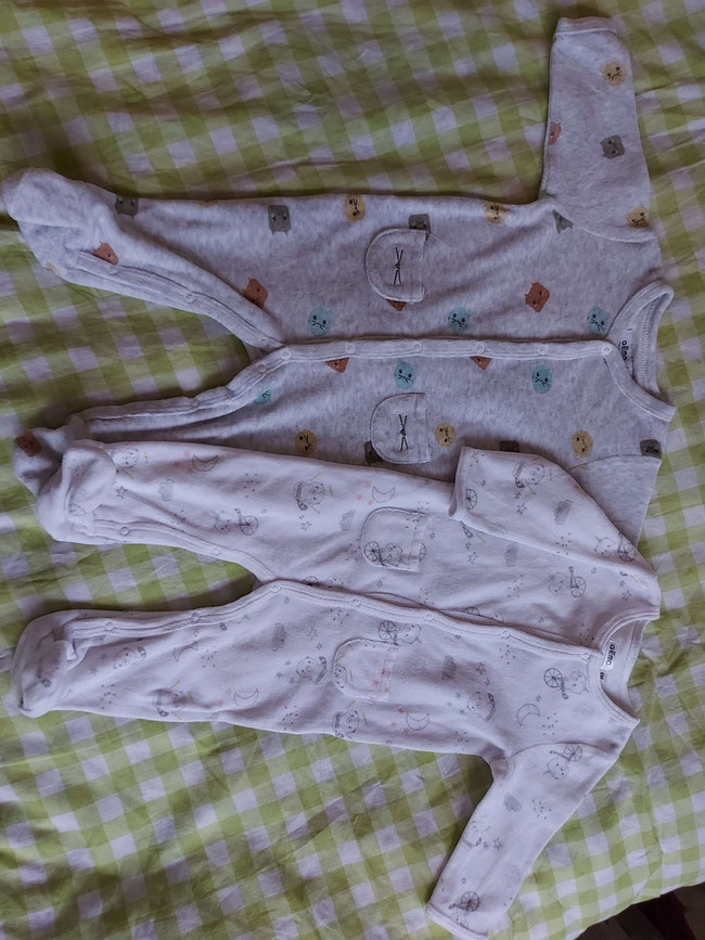 Lot de 2 pyjamas 6 mois