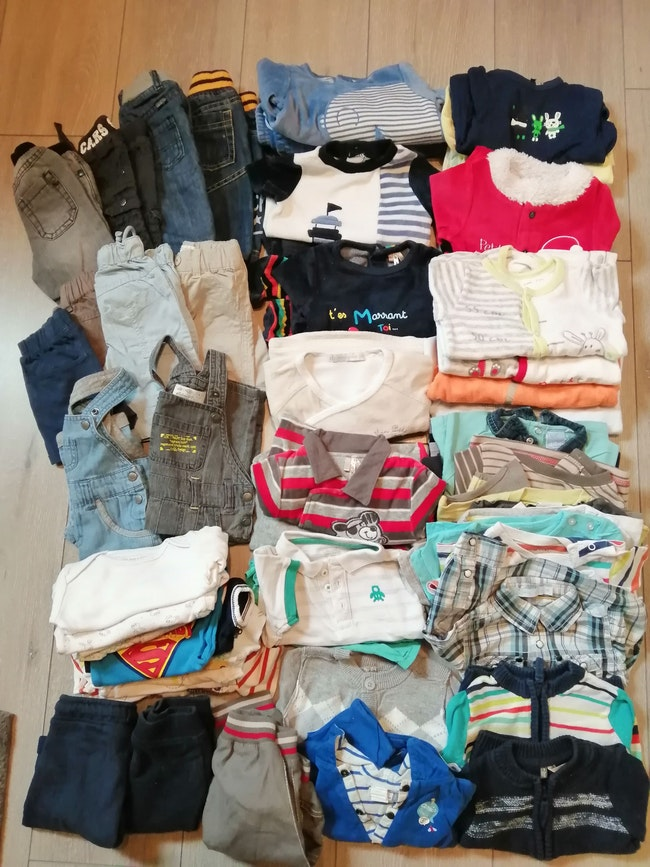 Lot vêtements garçon 3mois