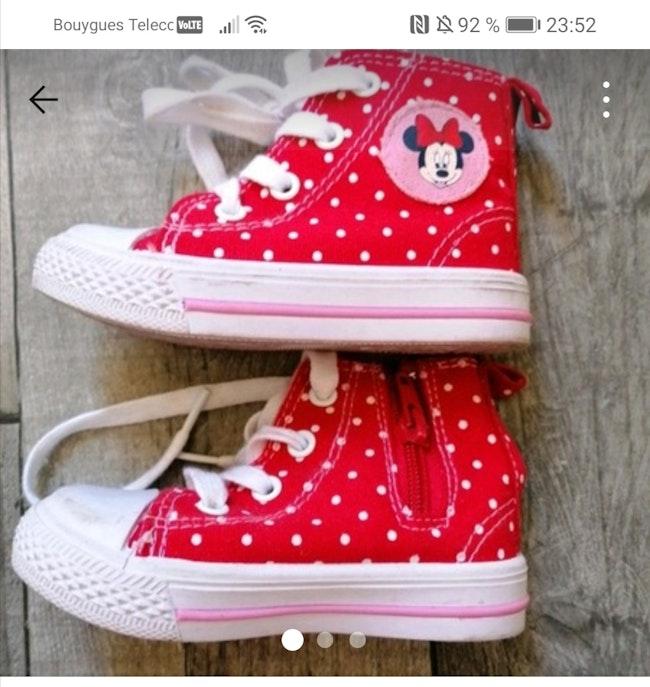 Chaussures minnie