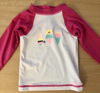 Teeshirt UV bébé fille