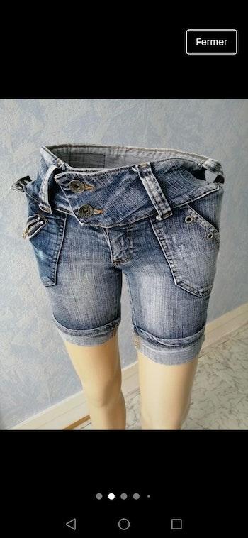 Short en jean 36