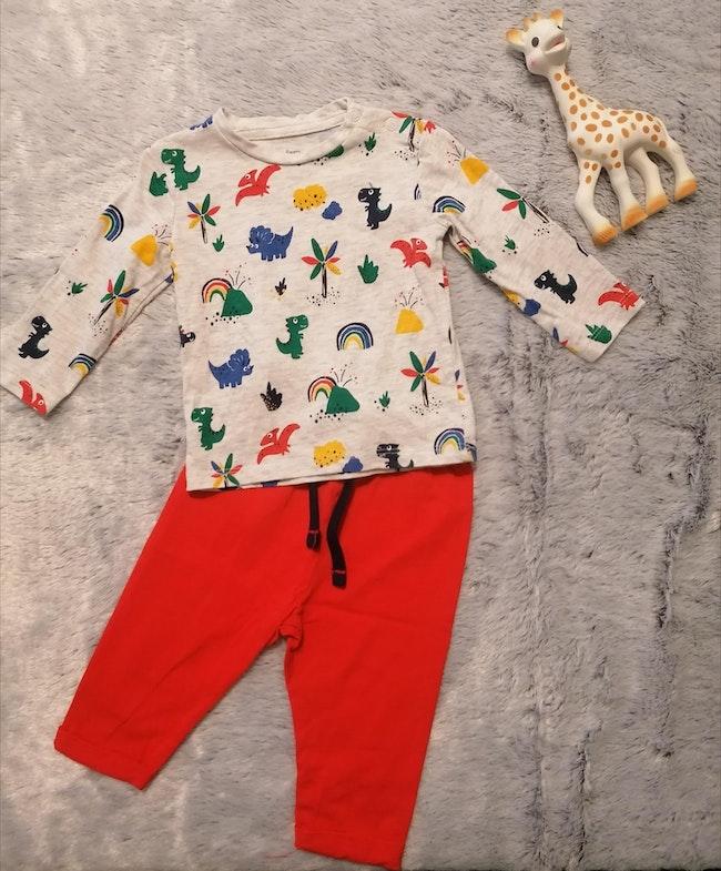 Pyjama 2 pièces 9m