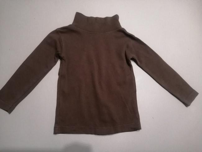 Tee-shirt manche longue à col roulé 2 ans