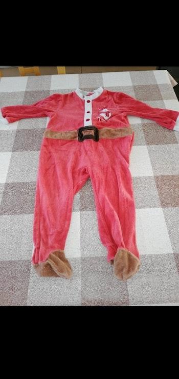 Pijama 24 mois épais rouge Noël cocoon la redoute