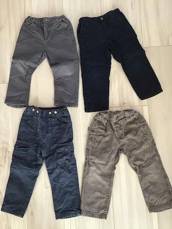 Lot pantalons 2 ans