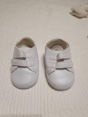 Baskets bébé garçon scratch taille 3
