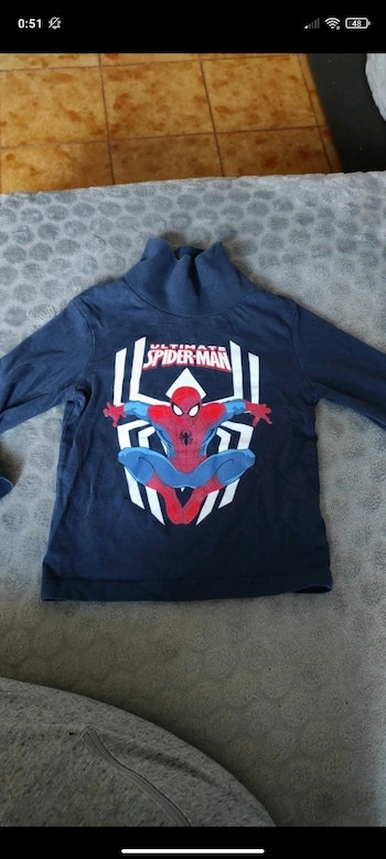 Sous pull spiderman 3 ans