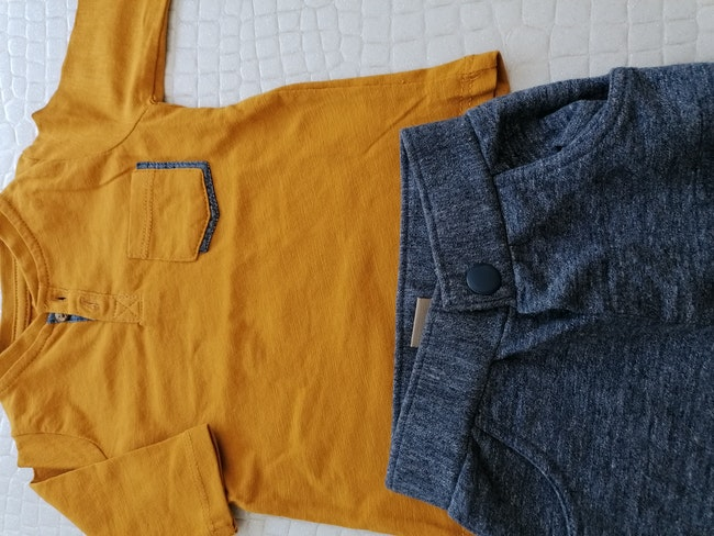 Ensemble T-shirt + pantalon 3 mois