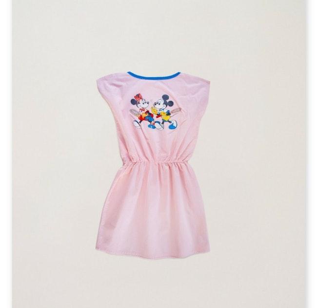 Robe Minnie en coton canevas / 10 ans