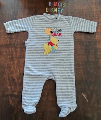 Pyjama Winnie l'ourson 6mois