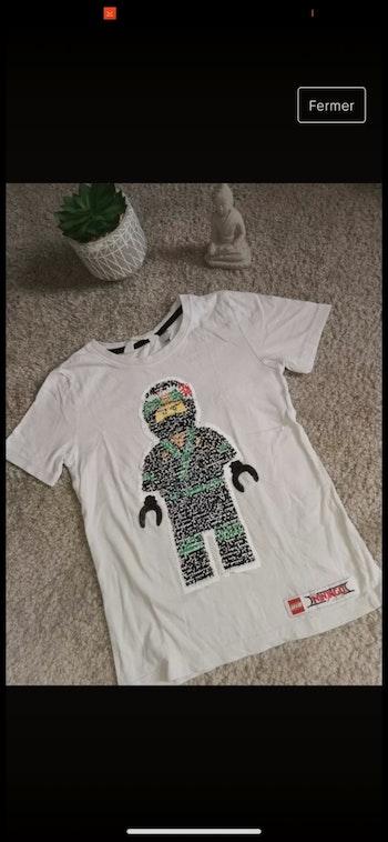 T-shirt 6,8 ans