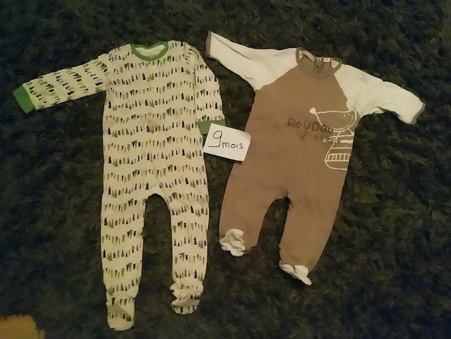 Lot pyjamas coton léger