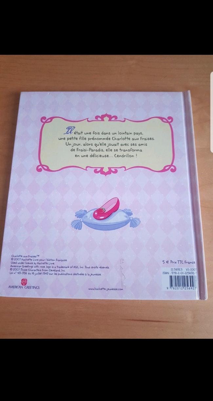 Livre enfant fille : Cendrillon